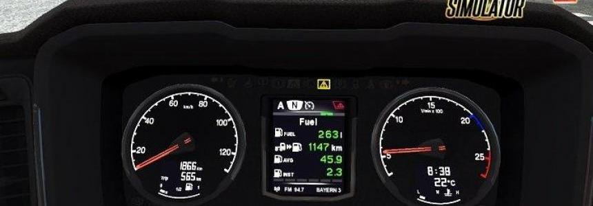 Scania Dashboard Computer v1.1 by Piva [1.30.x]