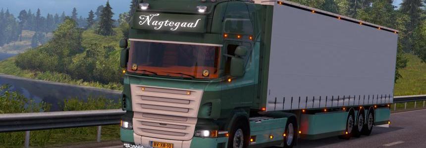 Scania R500 Nagtegaal + Trailer v1.0
