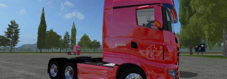Scania R700 Tielbeke Sollection v3.0