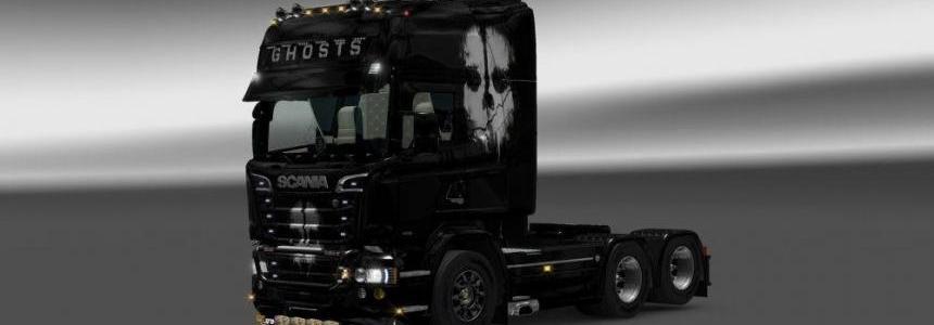 Scania RJL Ghost Skin