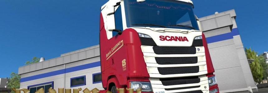Scania S 2016 SCS Boxhill Caravans skin 1.30