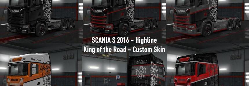 Scania S King of the Road Custom Skin