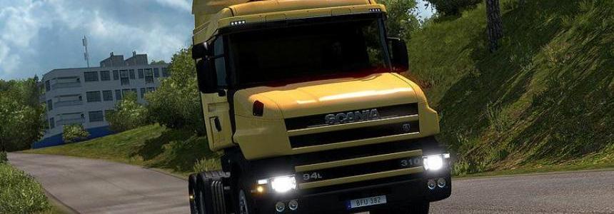 Scania T 4 series addon for RJL Scanias V2.2.2 [1.30]