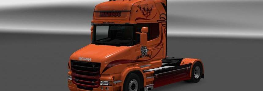 Scania T RJL Mad Dog skin 1.30