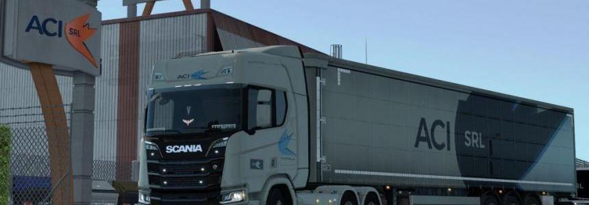 SCS Original company truck skins 1.28-1.30