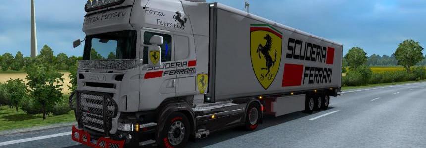 Scuderia Ferrari Combo Skin Pack v1.0