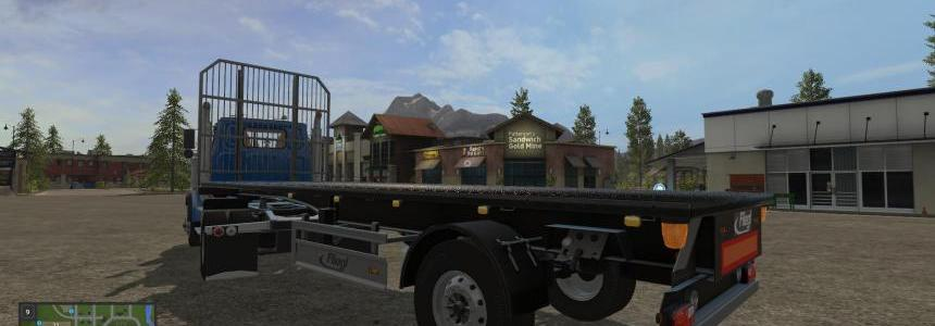 Short Flatbed Trailer UAL v2.0.0.0