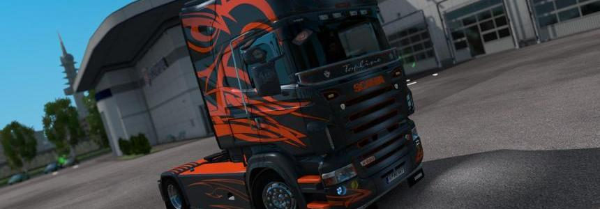 Skin Aros Bud for Scania RS v2.2.1 by RJL