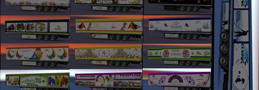 Skin Pack 2 various trailers v1.0