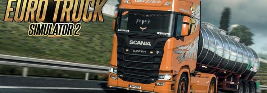 Skane Edition Skin Scania S&R 2016 v1.0