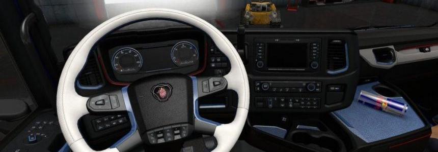 SN Scania Royal Blue Interior v1.0