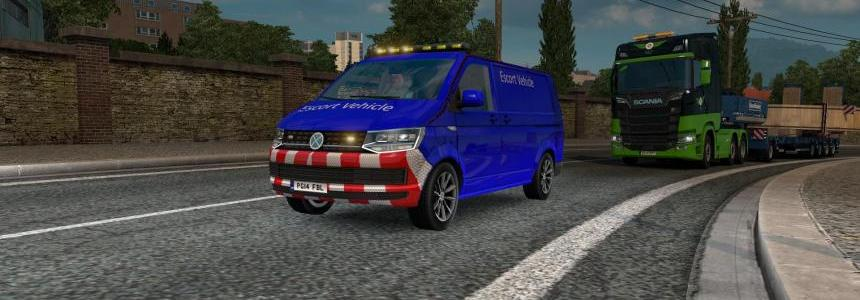 Special Transport VW Transporter T6 Skinable by Azorax Modding