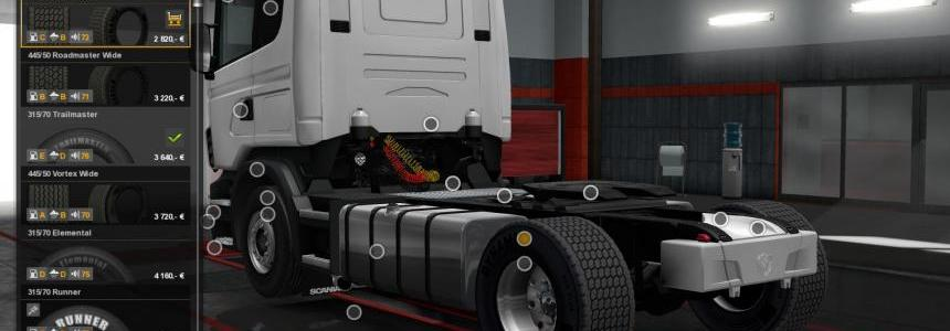 Super Single Tires and Wide Wheels 1.28-1.30