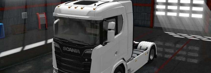 Toplights for Scania R and S 1.30