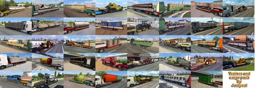 Trailers and Cargo Pack by Jazzycat  v6.0