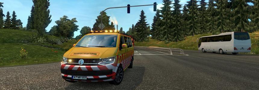 Transport Exceptionnal - VW Transporter T6 1.30