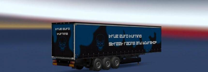 True Euro Turning Profiliner Trailer v1.0