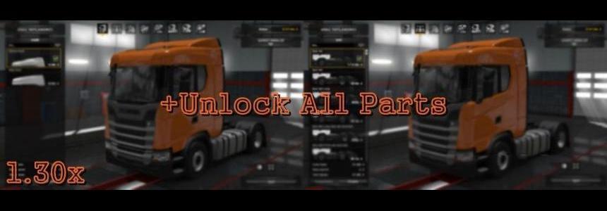 Unlock All Parts v7.0