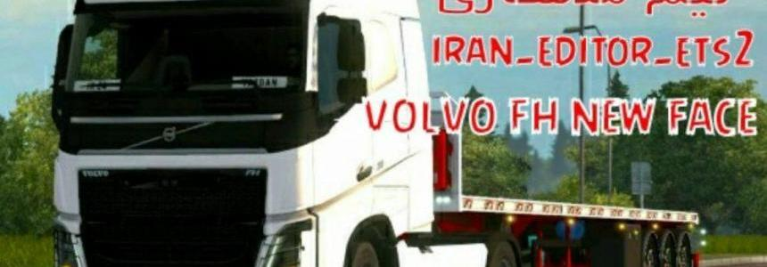 Volvo fh new face irani by iran editor