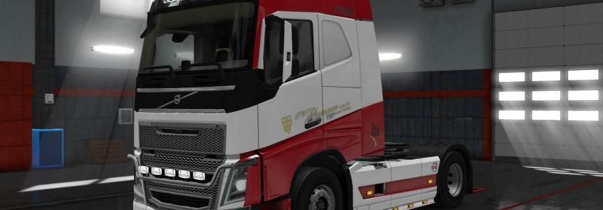 Volvo FH16 2012 Plummer skin 1.30