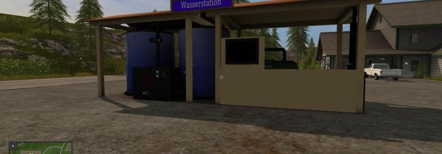 Wasser Station placeable Fabrik v1.0