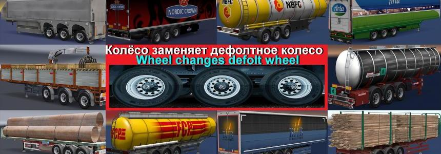 Wheel Сhanges default wheel on trailer v1.0