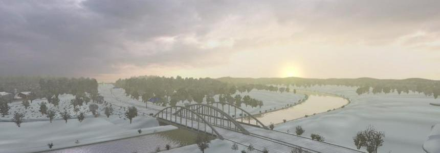 Winter Add-On for Realistic Graphics Mod v0.9.1