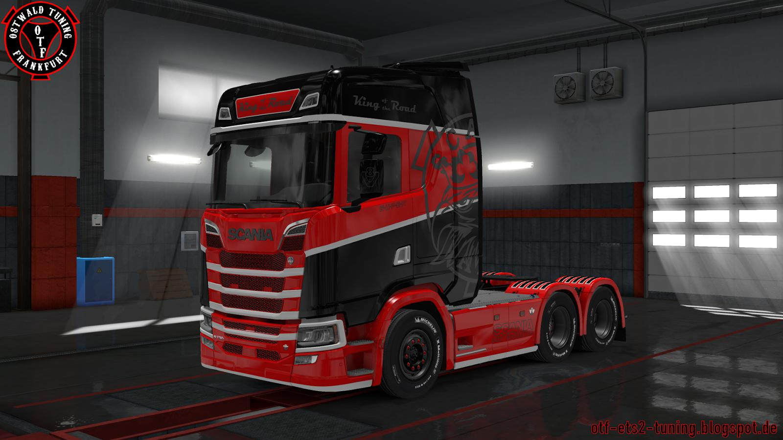 Www Ets Thomas Fr scania s king of the road custom skin - modhub