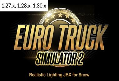 Realistic Lighting JBX for Snow (12-12-2017) 1.30.x
