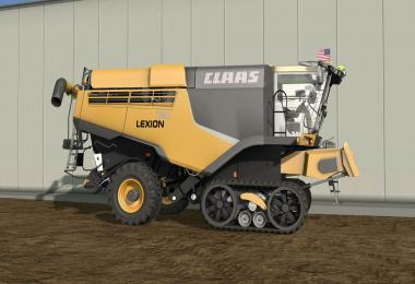 Claas Lexion 780 North America v1.0