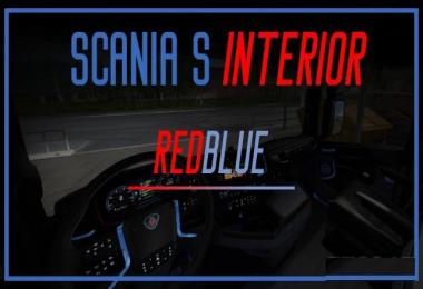 Scania S 2016 Interior (REDBLUE) v1.0