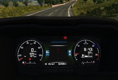 Scania S New Gen dashboard computer v1.0