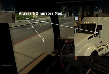 ATS Arayas NO Mirrors Mod [1.29.x]