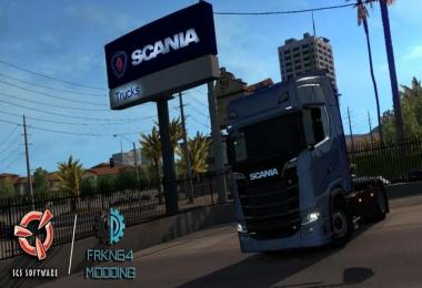 Scania Trucks for ATS v1.4