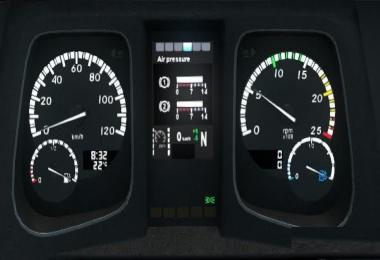 Mercedes Actros MP4 Dashboard Computer for 1.30
