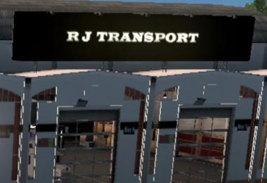 RJ TRANS ATS GARAGE (EDIT) v1.0