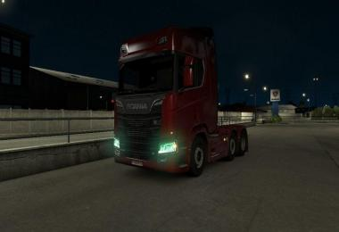 Scania Green Lights (Multiplayer) v1.0