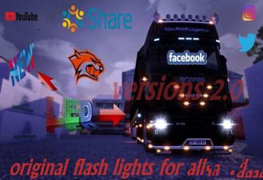 Advanced Flash Lights for all Trucks v2.0