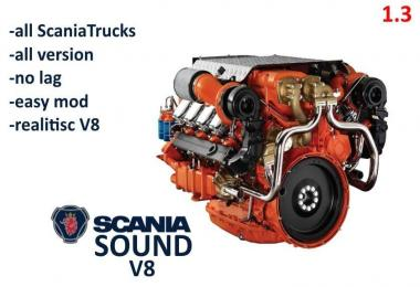 All Scania Sound v8 v1.0