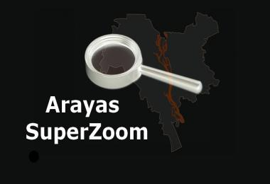 Arayas SuperZoom (for big maps) v1.0
