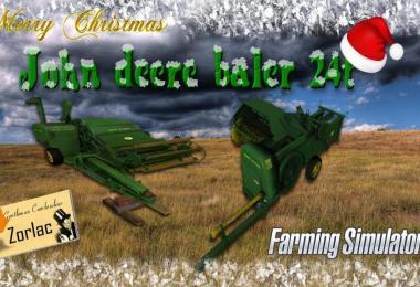 BALER John Deere 24t by TFSG