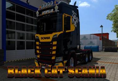 Black CAT Scania v1.0