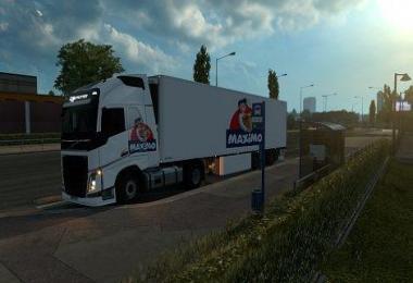 Camions + remorque Maximo v1.0