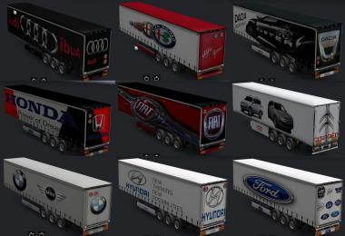 Car skins trailer all v1.0