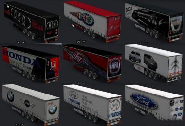 Cars trailer skins v1.0