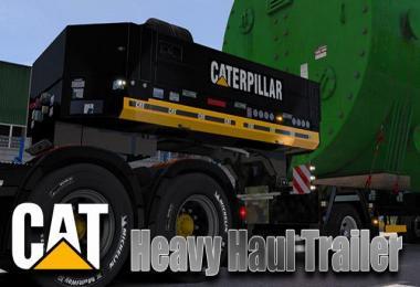 CAT Heavy Haul DLC Trailer skin v1.0