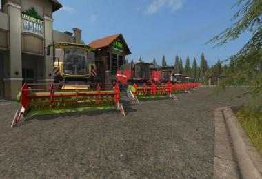 Claas C540 folding cutter v1.1