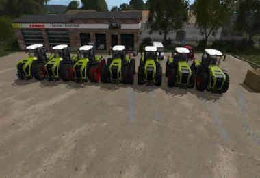 Claas Xerion 4000-5000 v1.0