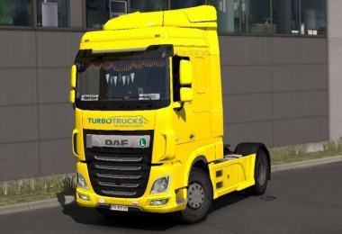 DAF Turbo Trucks Skin v1.0