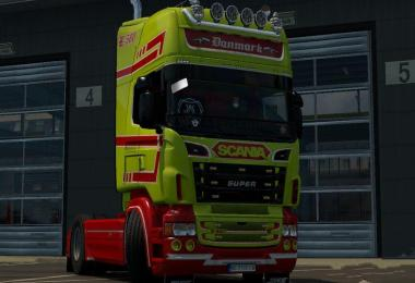 Danmark Old School mini pack Skin Scania RJL